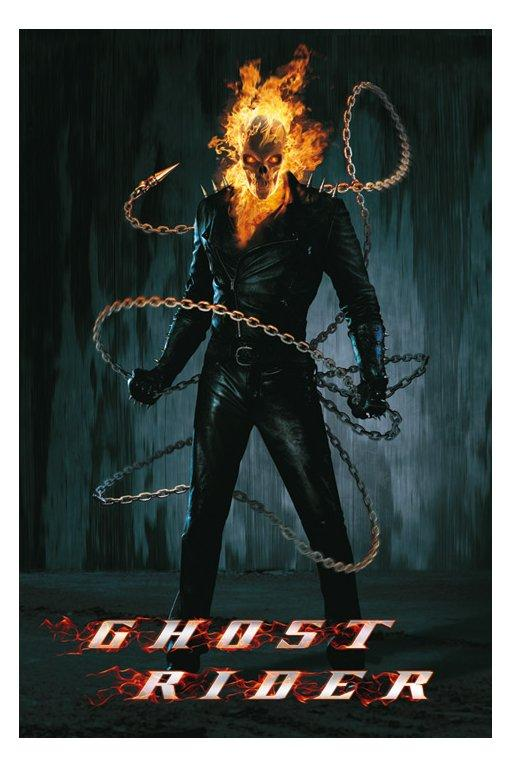 Ghost rider and terminator hybrid pictures freaking news.