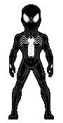Black suit spiderman 01