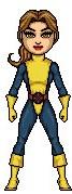 Shadowcat Micro Hero by AnthonyRobertPrice