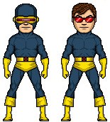 Classic Cyclops Micro Hero by AnthonyRobertPrice