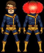 90s x men cyclops by haydnc95-d7djzm0