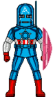 Captain america armored