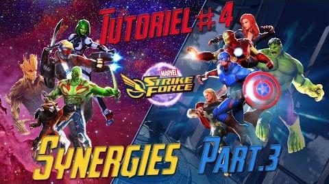 Marvel Strike Force 4 FR Les Synergies Part