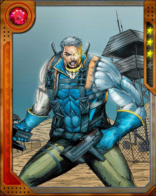 Askani-son] Cable | Marvel: Wa...
