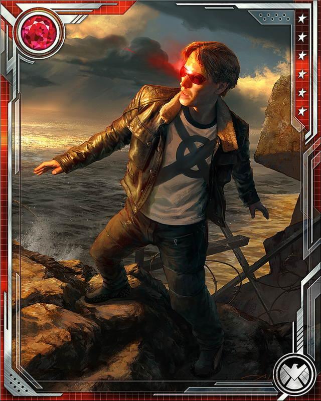 Genuine Leader Cyclops Marvel War Of Heroes Wiki