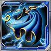 Storm's cape blue
