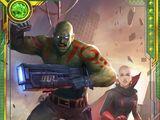 Born Guardians Drax & Moondragon