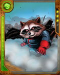 Keystone Quadrant Guardian Rocket Raccoon