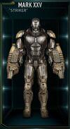 Armure d'Iron Man MK XXV (Terre-199999)
