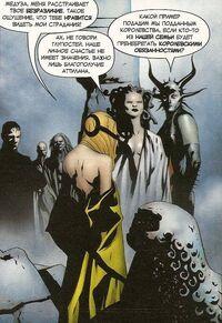 Medusa and Gorgon talk with Crystal Earth-1610