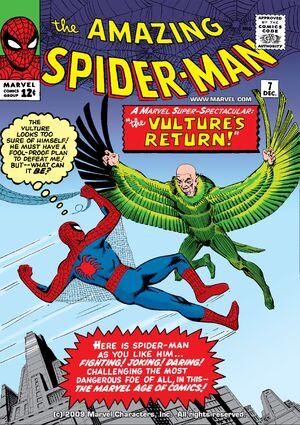 O Espantoso Homem-Aranha Vol 1 7