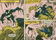 El Simbiote de Venom Tomando el Control de Hulk (Tierra-1089)