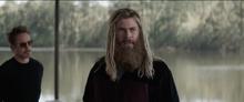 Тор рассуждает о смерти Наташи - Мстители Финал