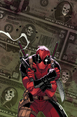 Deadpool Vol 3 5 Camuncoli Variant Textless