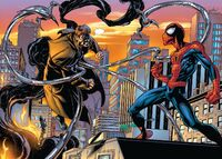 Hollywood Spider-Man vs Doctor Octopus Earth-1610