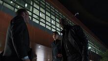 Фьюри прибывает на базу Фазы 2 - Мстители