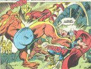 La Bi-Bestia y El Hombre Bestia (Tierra-616) vs Iron Man vs Thor