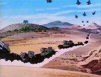 Mandarin Controlled Desert Military Forces