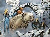 UFFA 1 Lockjaw is teleporting Fantastic Four to Attilan