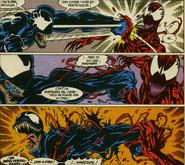 Venom (Edward Brock) Vs Carnage (Cletus Kasady)