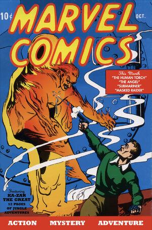 Marvel Comics Vol 1 1