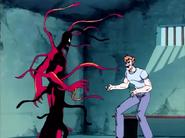 Kasady y el SImbionte de Carnage antes de Unirse