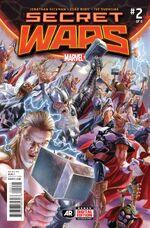 Secret Wars Vol 1 2