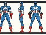 Uniforme do Capitão América