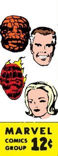 Угол с изображением главных персонажей
