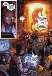 USM 98 Fantastic Four analyze the Scorpion