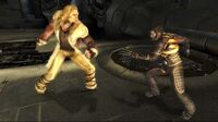 X-Men Official Game Sabretooth-Wolverine