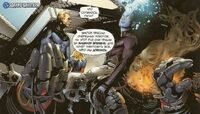 Doombots atack Baxter Building Earth-20604