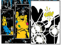 Thanos Manopla do Infinito