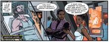 Т'Чалла и Шури говорят о Зимнем солдате - Infinity War Prelude