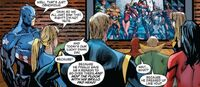 New Avengers 49 New Avengers had known about Norman Osborn's Dark Avengers
