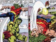 Leonard Sanson vs Robert Bruce Banner (Tierra-616)