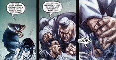 Куки Мэлоун (616) избивает Джеймса Хоулетта (616)