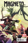 Magneto Vol 3 6 Guardians of the Galaxy Variant
