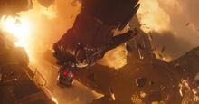 Квилл во время битвы на Титане - Война бесконечности