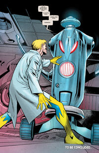 Henry Pym (Terra-616) criando Ultron