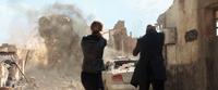 Spider-Man- Far From Home Nick Fury (Talos) and Maria Hill (Soren) vs Earth Elemental