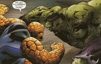 UFF 23 The Thing vs Zombie-Hulk