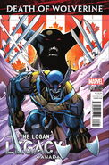 Death of Wolverine The Logan Legacy Vol 1 5 Canada Variant