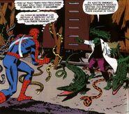 El Lagarto (Curis Connors) en capaz de Comandar a cientos de Reptiles