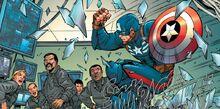 Кэп борется с наемниками - комикс Homecoming