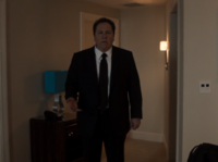 Happy Hogan is making remarks to Peter Parker