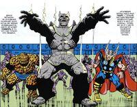 Thanos Sculpture