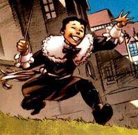 Джеймс Хоулетт (616) в детстве