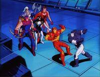 Force Works Watch Iron Man War Machine Fight