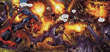 USM 93 Spider-Man and X-Men strikes back